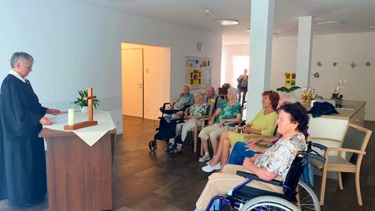 Gottesdienst im Seniorenstift Teningen